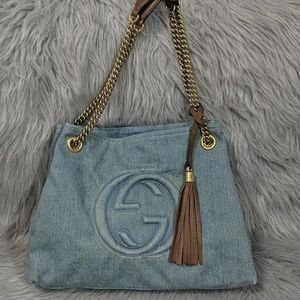 Gucci Large Denim Soho